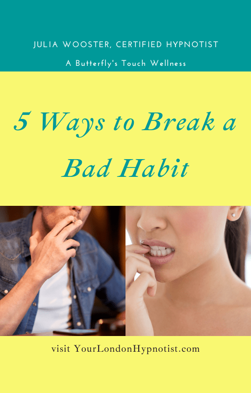 5 ways to break a bad habit